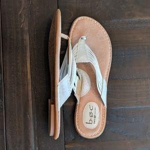B.O.C. White Sandals